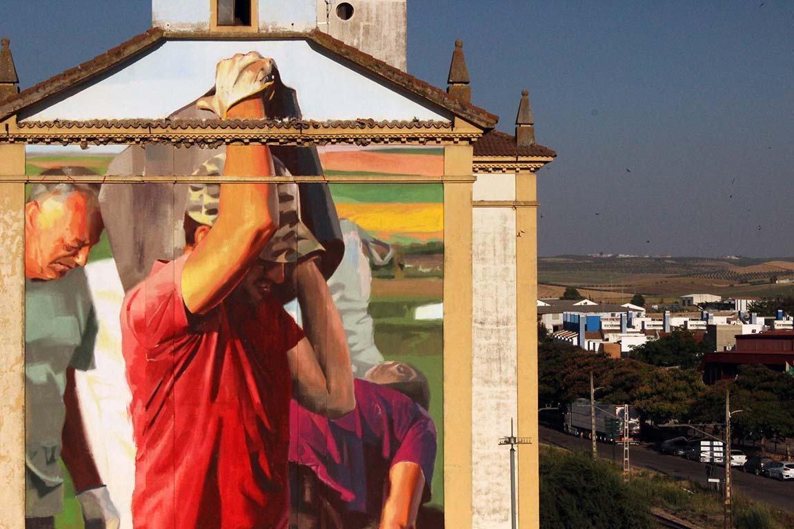 Antes ahora y después, Jornadas de Arte Contemporáneo Scarpia. El Carpio, córdoba