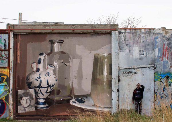 Colaboración con Mohammed Lghacham. Mataró, Cataluña