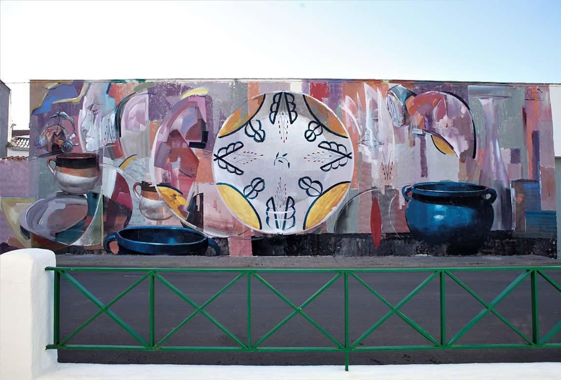 Fragmento de un desarrollo sin pauta, colaboración con Laguna. Almagro, España