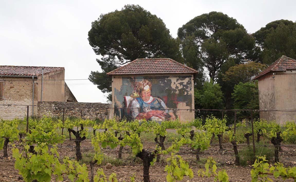 Retrato de María con Domingo. Roujan, Francia