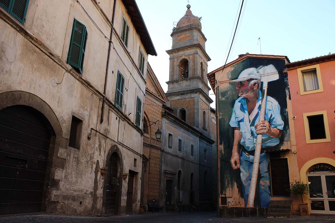 Retrato de Osvaldo, Urbanvision festival. Acquapendente, Italia