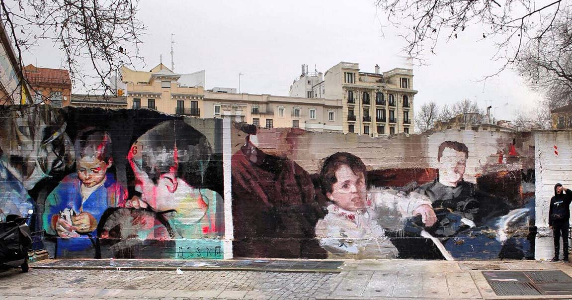 Urbanity art, Madrid